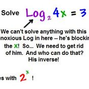 Lesson 6-4 Solving Logarithmic Equations