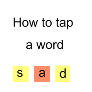 How to Tap a Word