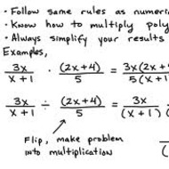 5.19 Dividing Rational Expressions (due by midnight on THURS April 10)