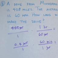Dimensional Analysis in the Real World