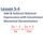 Lesson 6-11 Add/Subtract Rational Expressions with Uncommon Monomial Denominators