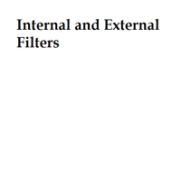 Internal and External Filters