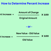 Increase Percent of Change