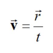 Representing Speed & Velocity Mathematically