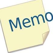 Formatting a Memo