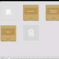Sharing Evernote Notebooks on the iPad