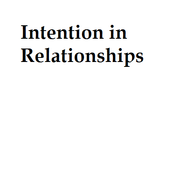 Intention in Relationships