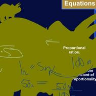 Using Equations to Describe Proportions