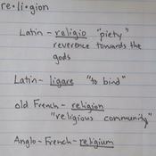 """""""Origins"""" of Religion"""