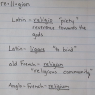 """Origins"" of Religion"