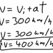 Calculating Velocity Under Constant Acceleration