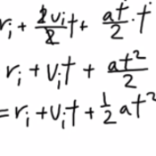Determining Position Under Constant Acceleration