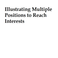 Illustrating Multiple Positions to Reach Interests