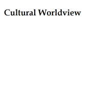Cultural Worldview