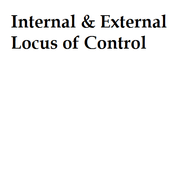 Internal & External Locus of Control