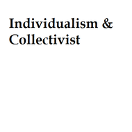 Individualism & Collectivist