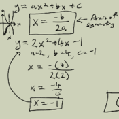 Finding Information of a Parabola from its Equation