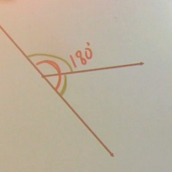 Angles formed by Intersecting Lines