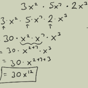 Multiplying and Dividing Monomial Expressions with Integral Exponents