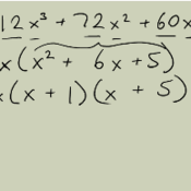 Factoring Algebraic Expressions with a Lead Coefficient of One ...