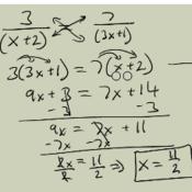 Solving Algebraic Proportions in 1 Variable