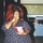 000946 fat overweight black woman with huge red hair eating kfc chicken11