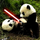 Panda lightsaber